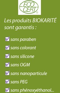 Certifications Biokarité